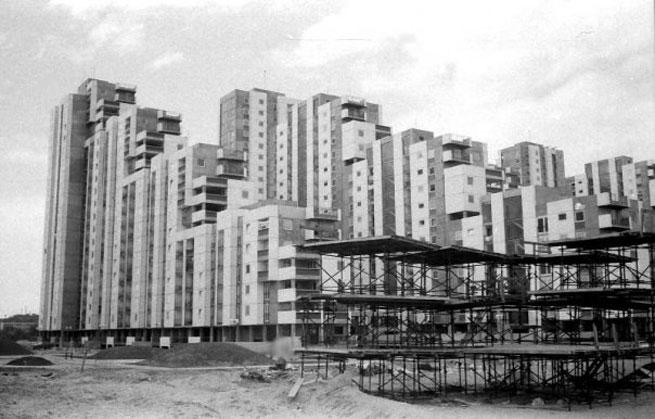 2) Blok 61 Novi Beograd 1973